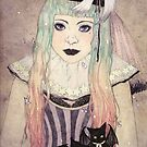 Pastel Goth Princess by JGVart