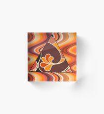 Seventies Wok  Acrylic Block