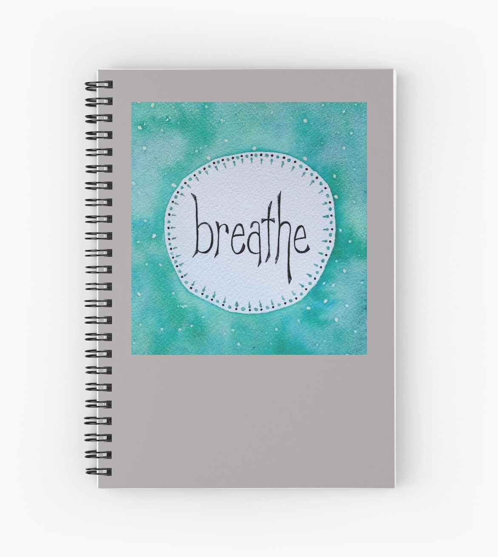 Breathe - turquoise by lmkucera