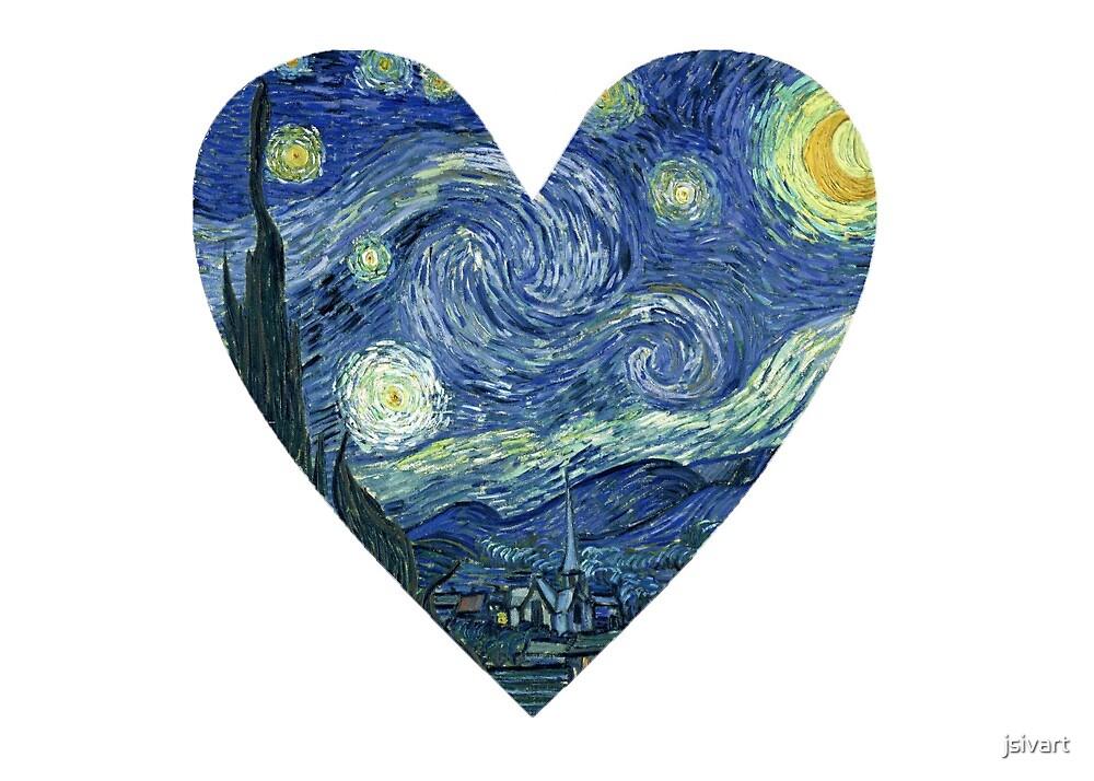 Starry Heart by jsivart