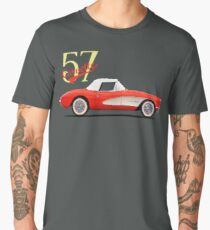 The 1957 Corvette Men's Premium T-Shirt