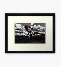 Thunderflash - 1959-1966 Framed Print