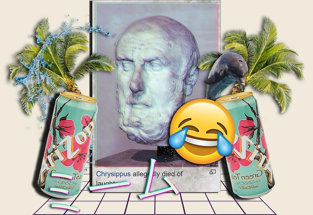 Vaporwave Death from Memes by Alheak
