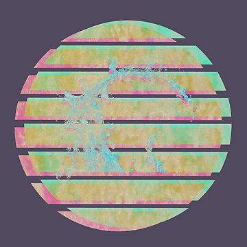 Círculo de Vaporwave de Alheak