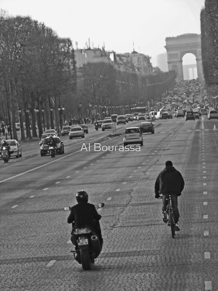 Champs Elysees by Al Bourassa