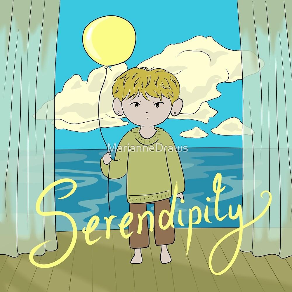BTS Jimin Serendipity by MarianneDraws