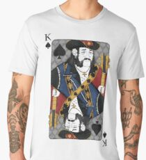 Lemmy - King of Spades - Tribute to Motorhead Men's Premium T-Shirt