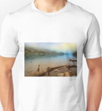 Logs And Boulders Moraine Lake Banff II T-Shirt