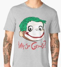 Why so Curius Men's Premium T-Shirt