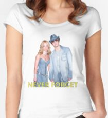 britney spears t shirt Women's Fitted Scoop T-Shirt