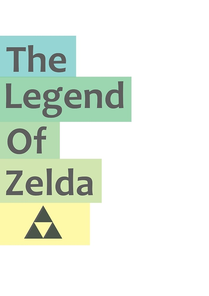 Minimal Legend of Zelda  by LostWorlds