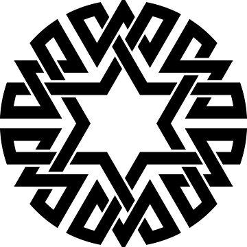 Celtic Hexagon Medallion by Thel0n