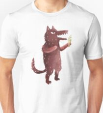Wolf with Ice Cream T-Shirt