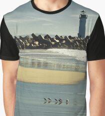 Santa Cruz lighthouse Graphic T-Shirt