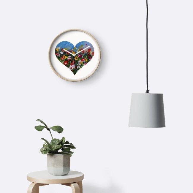 Heart of Flowers by Farbenarzt