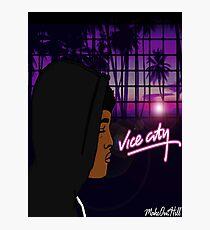 Vice City Prince Photographic Print