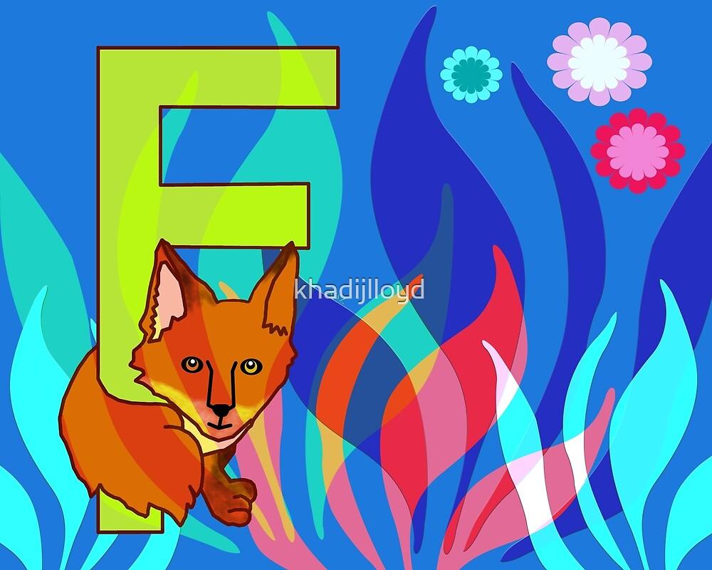 F for Fox by khadijlloyd