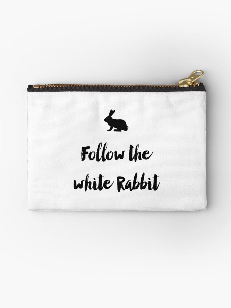 Follow the white rabbit (white version) by lunahaze