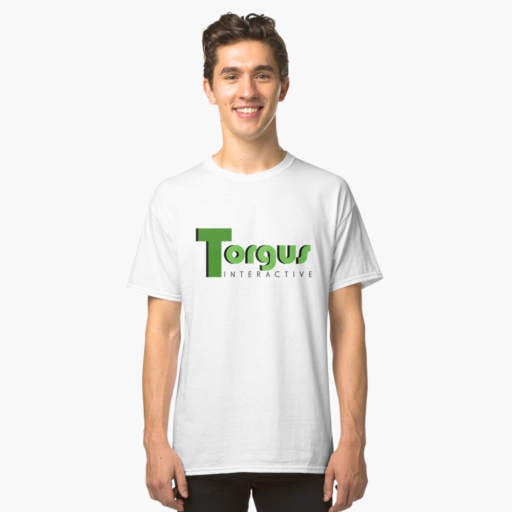 Torgus Interactive Classic T-Shirt Front