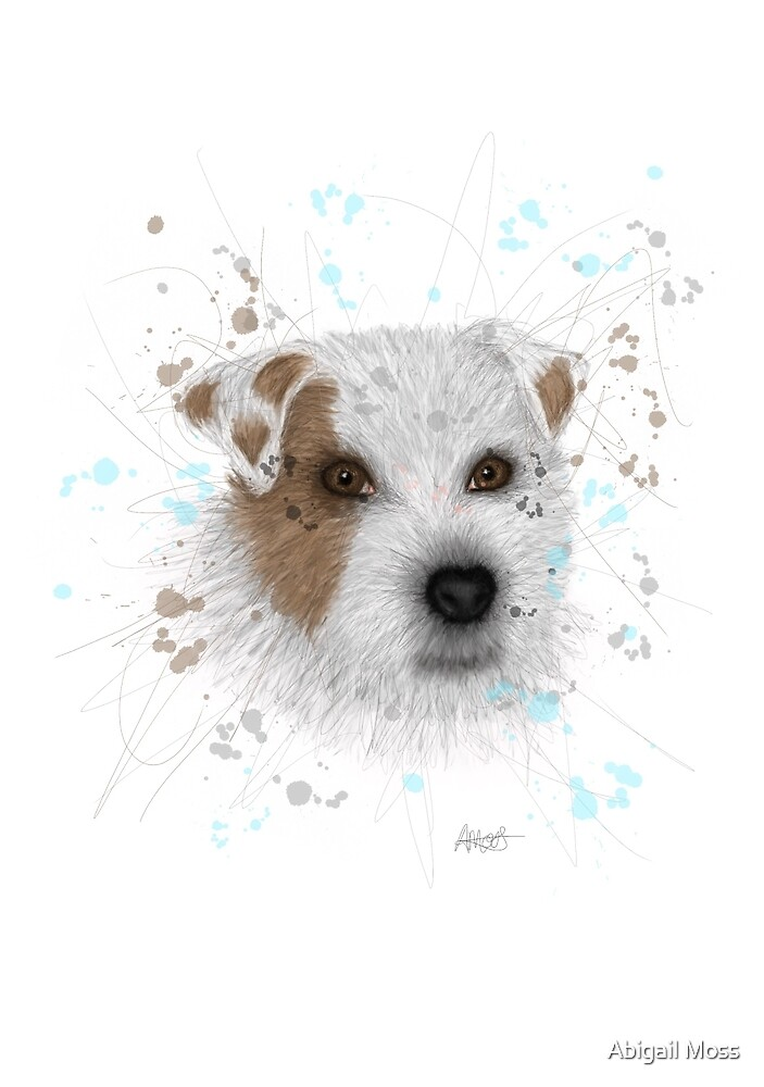 Dog print  by abigailmoss