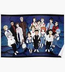 Evangelion Cast Poster