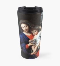 Baby Jesus and Mary Painting Travel Mug