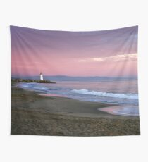 Santa Cruz lighthouse II Wall Tapestry