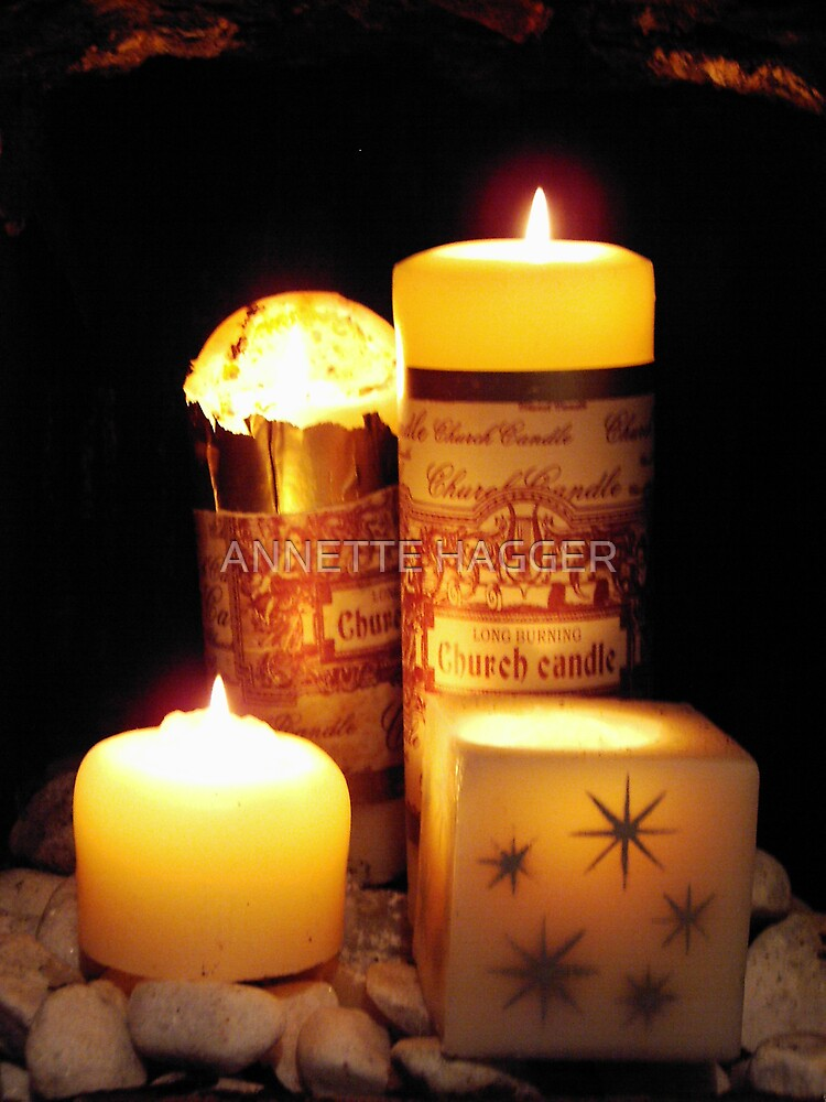 CANDLE LIGHT by ANNETTE HAGGER