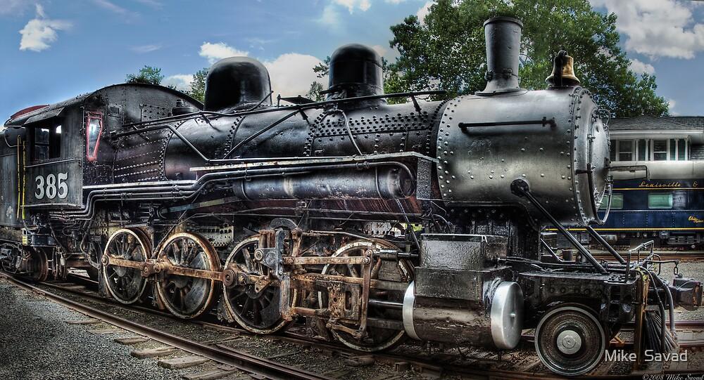 Baldwin 2-8-0 Consolidation Locomotive by Michael Savad