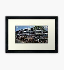 Baldwin 2-8-0 Consolidation Locomotive Framed Print