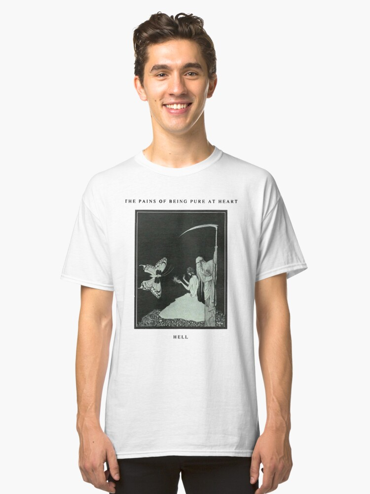 The Pains Of Being Pure At Heart- Hell Classic T-Shirt Front