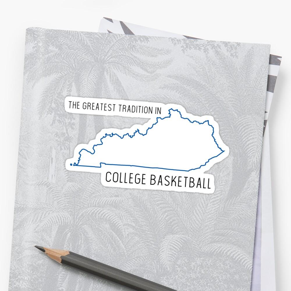 Kentucky Basketball by Jocelyn Nichols