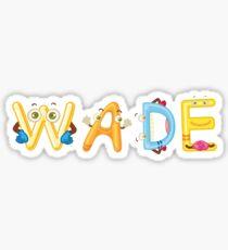 Wade Sticker