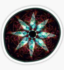 pseudo kaleidoscope Sticker