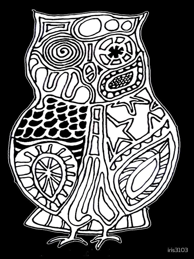 Totem Owl by iris3103
