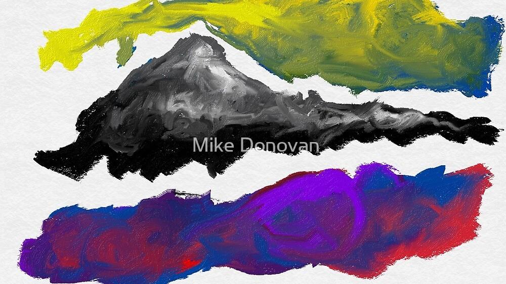 Splotches #1:  Purple Mountains Majesty by Mike Donovan