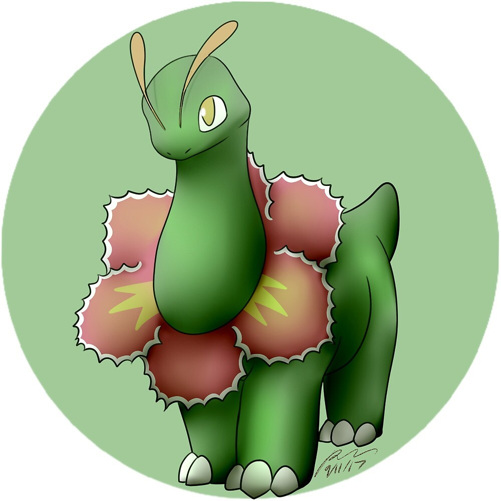154 - Female Herb Monster by rebexorcist