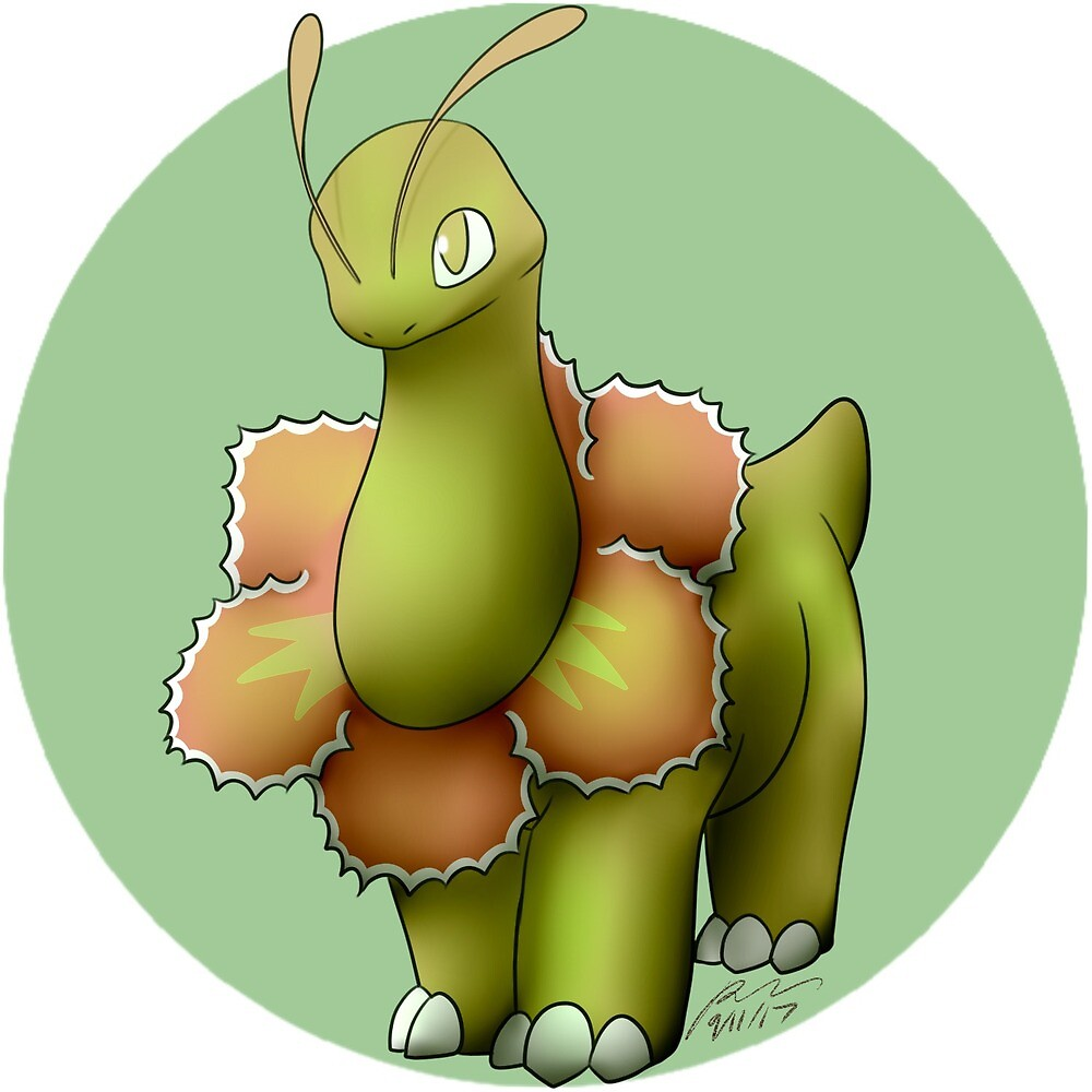 154 - Shiny Herb Monster by rebexorcist