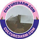 Culturedarm Circle Indigo Lavender Pink by culturedarm