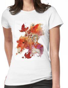 """I'm a leaf on the wind - Hoban """"Wash"""" Washburne Womens Fitted T-Shirt"""