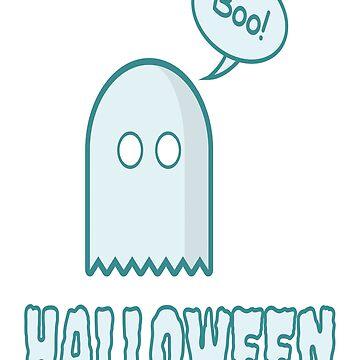 Boo Shirt - Boo Halloween Ghost Shirt - Ghost Shirt by drbr92