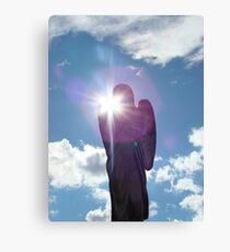 Angel Shining Canvas Print