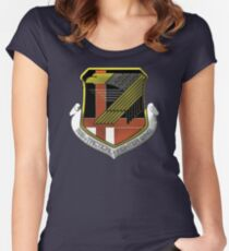 Yellow Squadron Insignia Women's Fitted Scoop T-Shirt