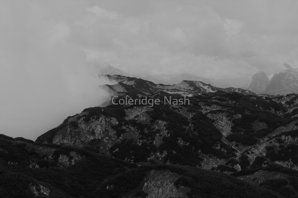 Rocks of Untersberg by Coleridge Nash