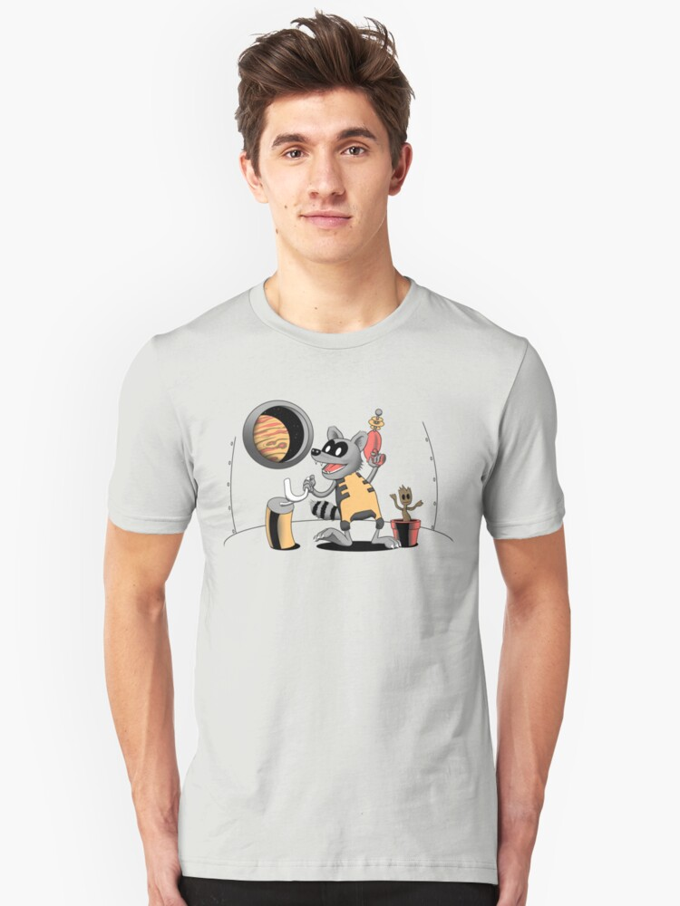 Steamboat Rocket Unisex T-Shirt Front