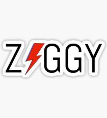 'Ziggy' stardust design Sticker
