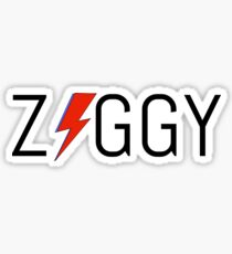 'Ziggy' stardust design Sticker