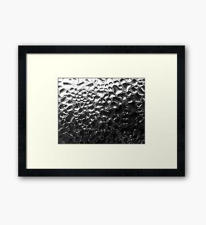 Condensation Framed Print