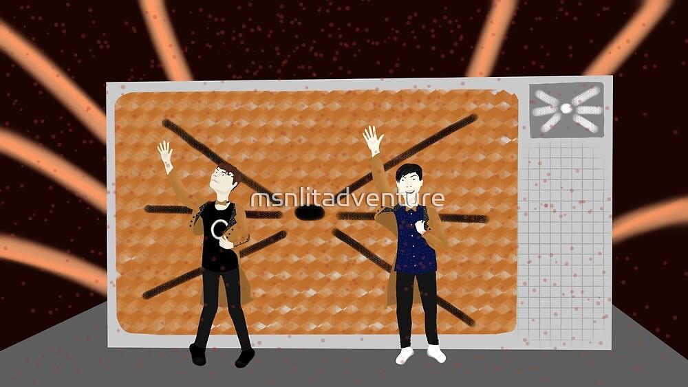 Dan and Phil Tatinof Finale by msnlitadventure