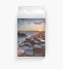 Giant's Causeway , Co Antrim , Northern Ireland Duvet Cover